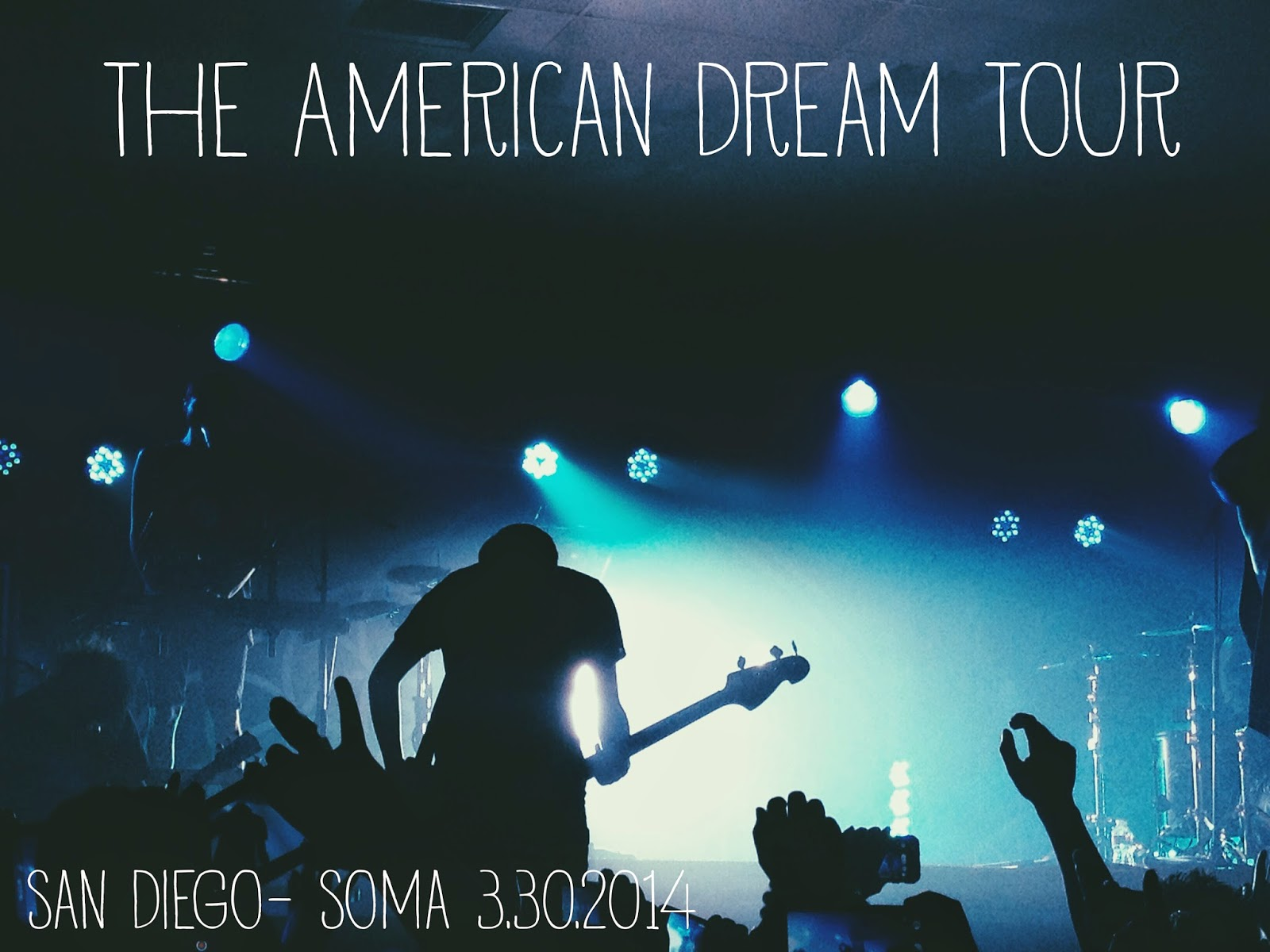 Courtney Tomesch The American Dream Tour San Diego SOMA Bring Me the Horizon