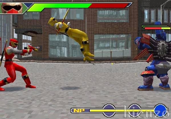 Power Rangers PS1 Gameplay