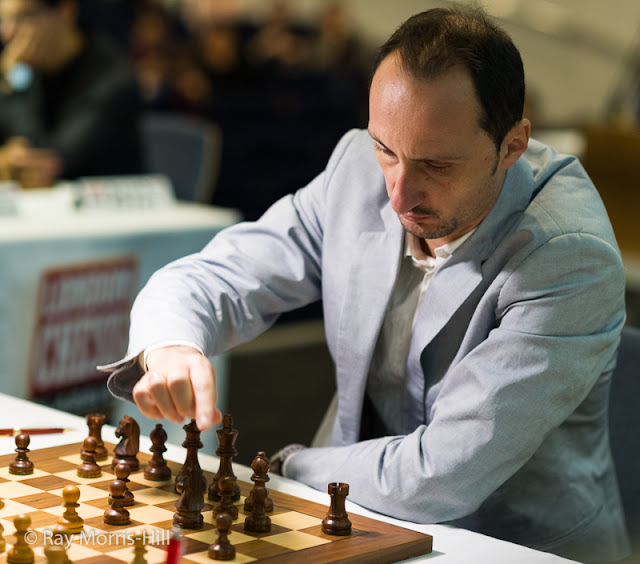 Veselin Topalov en el London Chess Classic 2015
