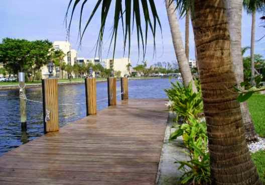 SOLD BY MARILYN: POINT LOT IN DEERFIELD BEACH WITH 60' DOCK