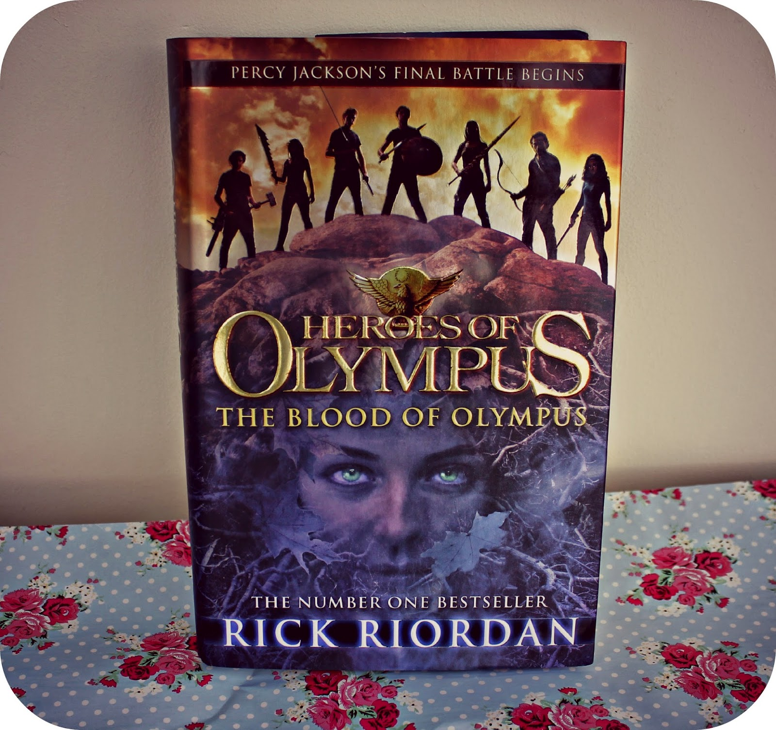 The Heroes of Olympus: The Blood of Olympus Book Giveaway!