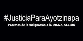 #JusticiaParaAyotzinapa