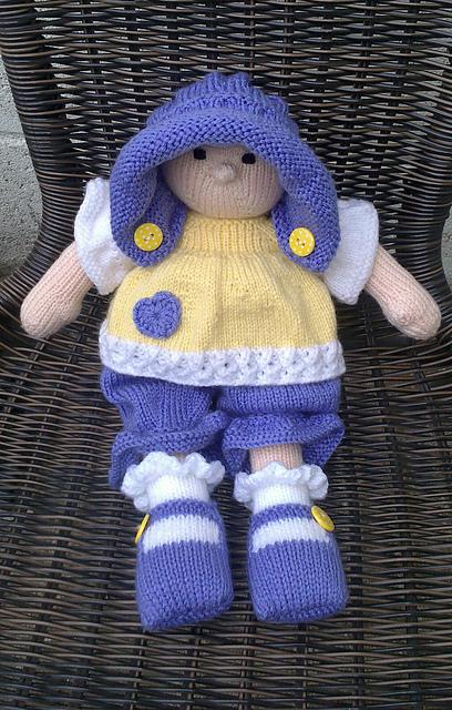 lalka na drutach