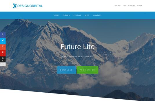 Futurelite wordpress theme