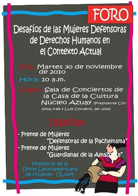 Jornadas por los 16 días de activismo contra la violencia hacia las mujeres