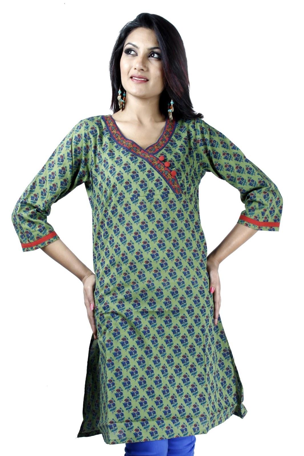 Designer kurtis images designer kurti patters images and for Images of designer