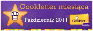 Cookletter miesiąca to ja:)