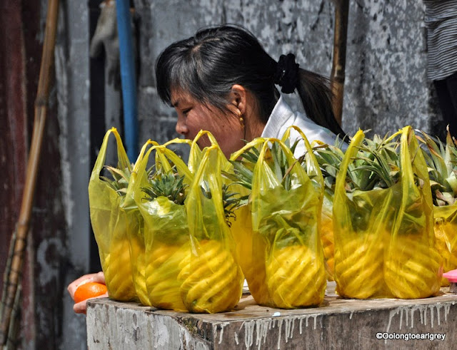 Shanhai Street Food, Pineapples