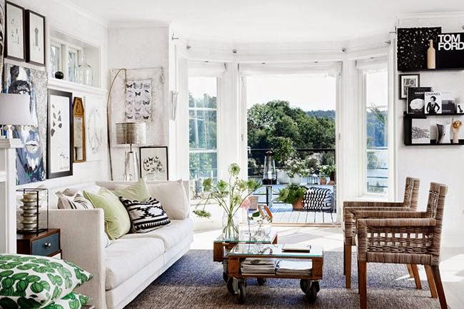 Eclectic house home shabby home arredamento interior for Hem arredamento