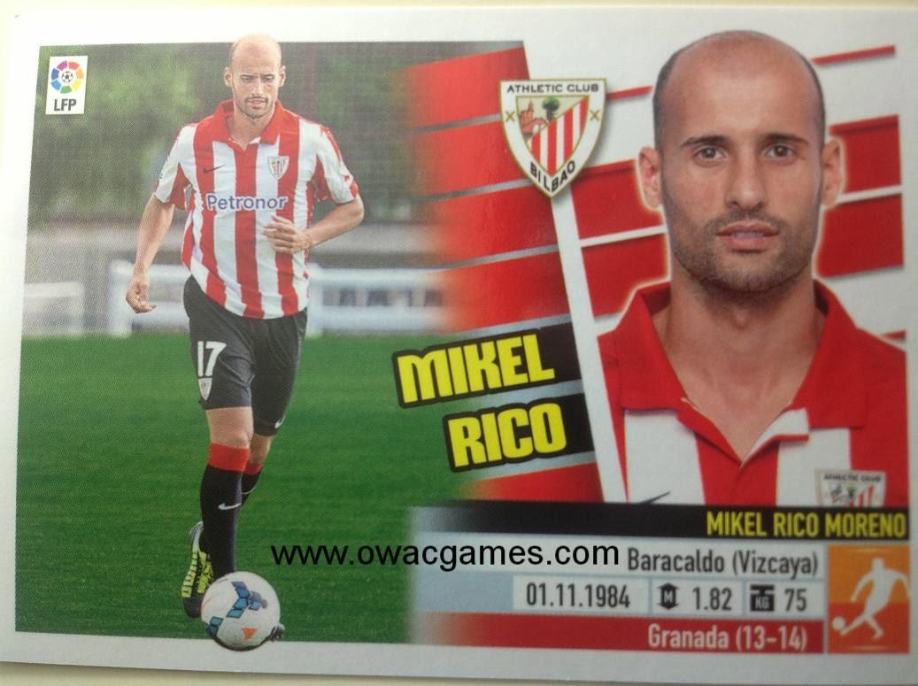 Liga ESTE 2013-14 Ath. Bilbao - Últimos Fichajes 51 - Mikel Rico