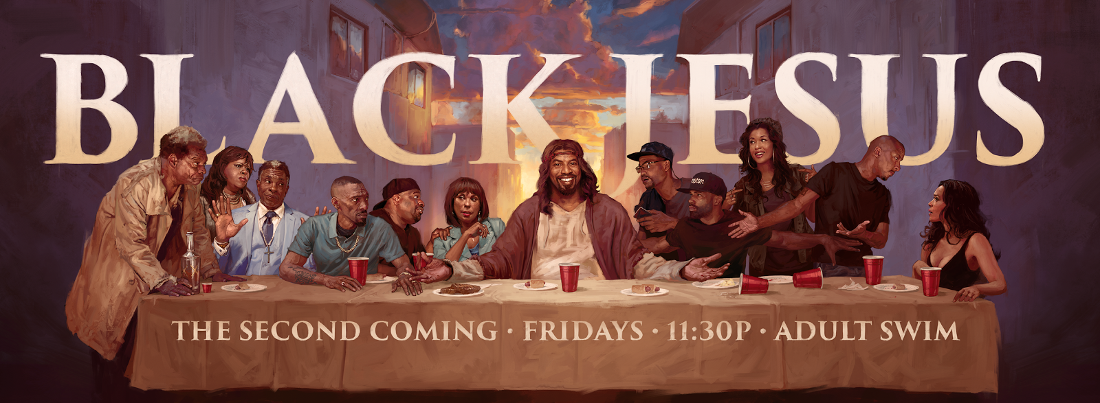 Who Is In The Black Last Supper Painting