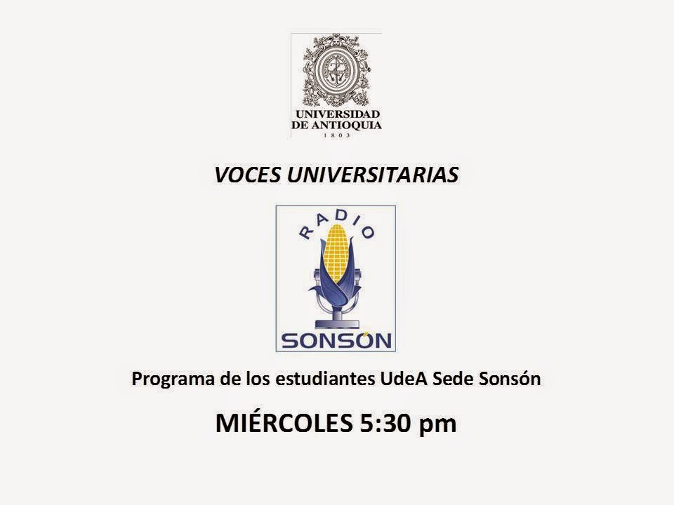 "ESTUDIANTES EN RADIO: ""Voces Universitarias"""