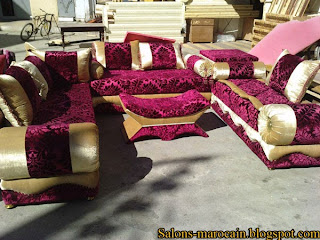 Nouveaux cr ation canap fauteuil pour les salon marocain d coration salon marocain moderne 2016 for Les canapes marocains