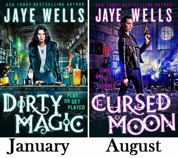 Prospero's War, Books 1-2, Dirty Magic & Cursed Moon - Jaye Wells