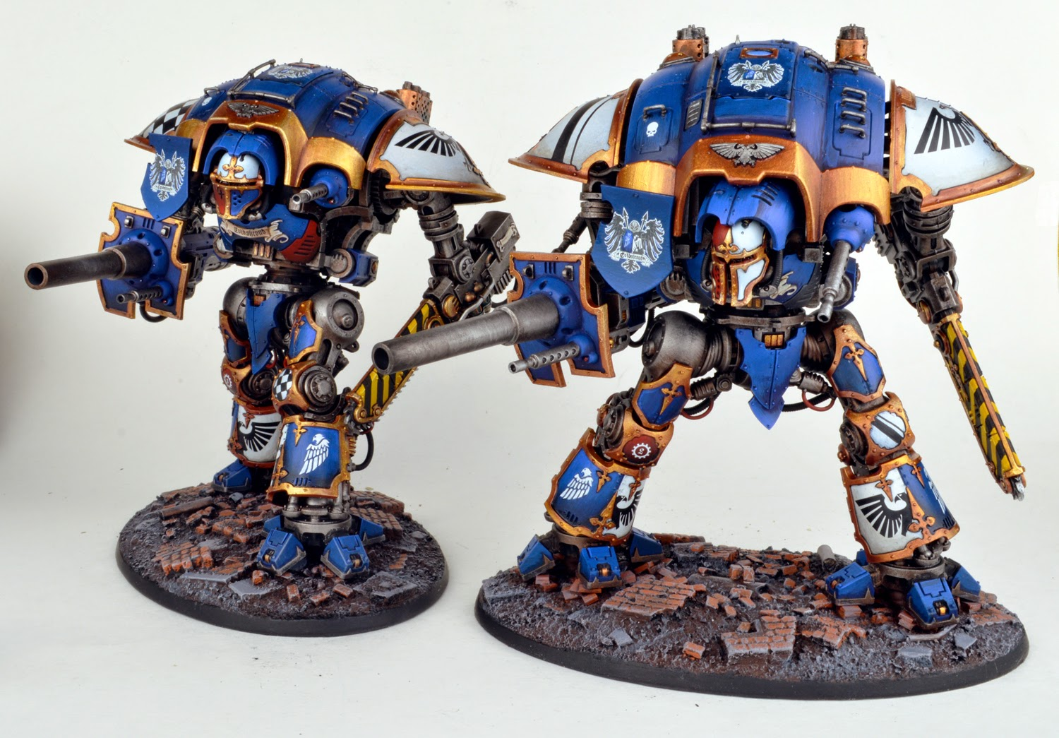 The Knights of House Coldshroud stand ready.