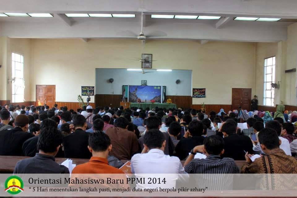 Hari Pertama: Pengenalan ke-Al-Azhara-an oleh Dekan Fakultas