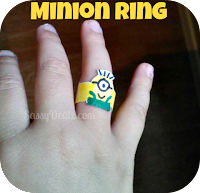 despicable me crafts for kids ring