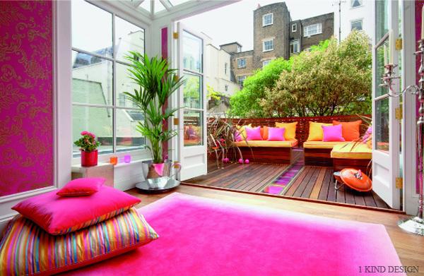 Monday design a colorful london home