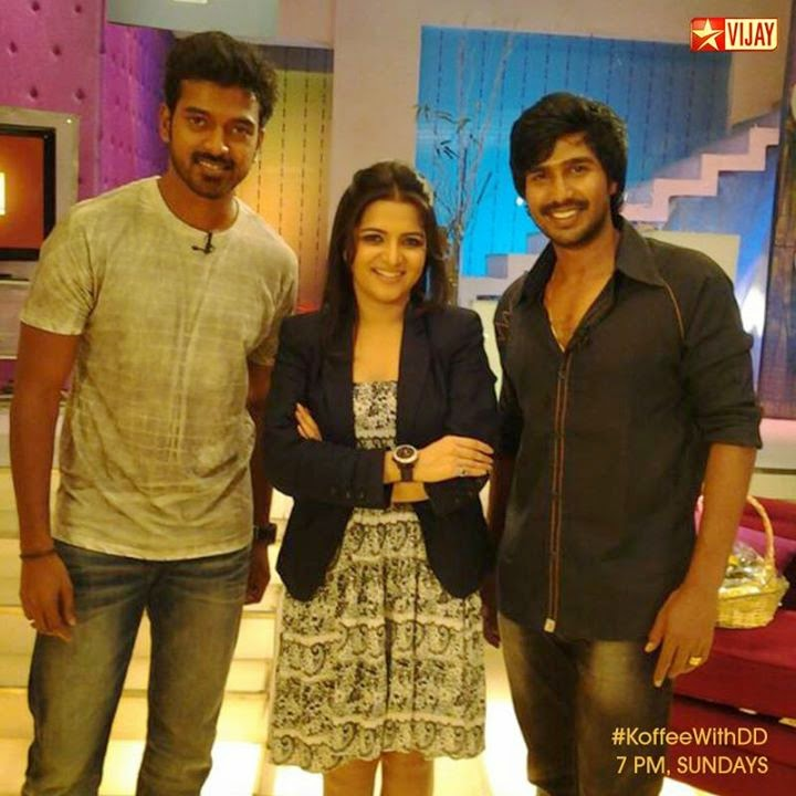 Koffee With DD Vikranth And Vishnu,15-06-2014, Today Program with Vikranth And Vishnu, Vijay Tv, Watch Online Koffee With DD