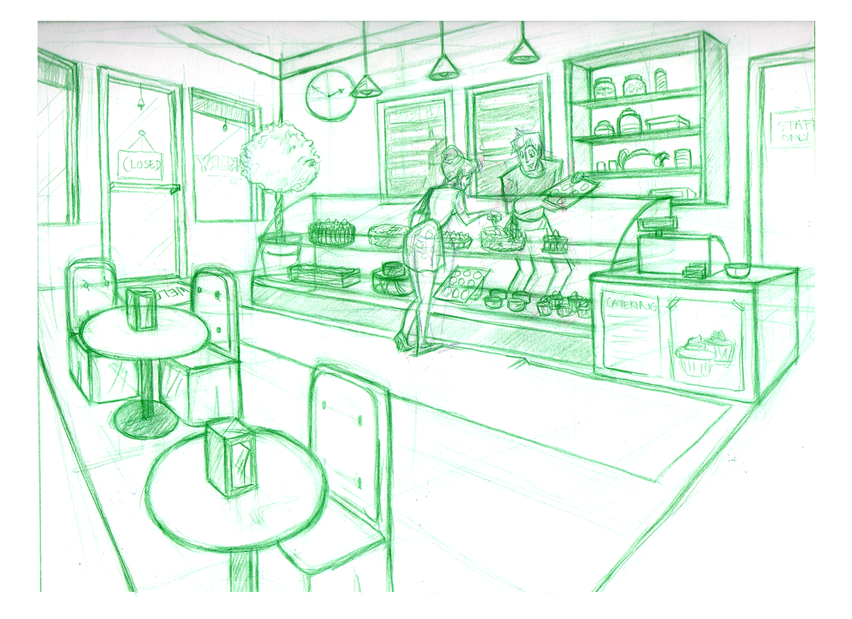 BucketofROBOTS Little Bakery Layout
