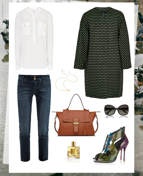 London fashion week inspired outfit | British fashion designers outfit | Streetstyle