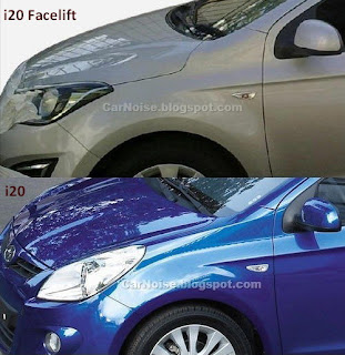Side Comparison: New vs Old Hyundai i20