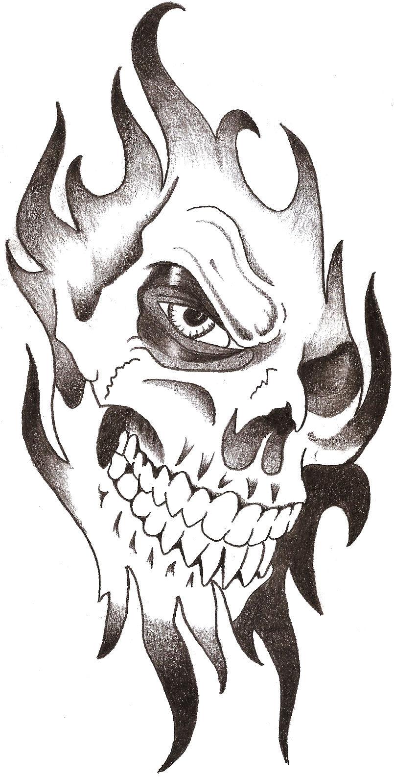 Deer skull tattoos tumblr simple
