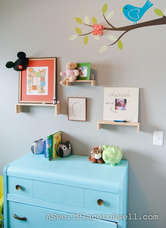DIY Fabric Peonies with Chalk Paint Dresser