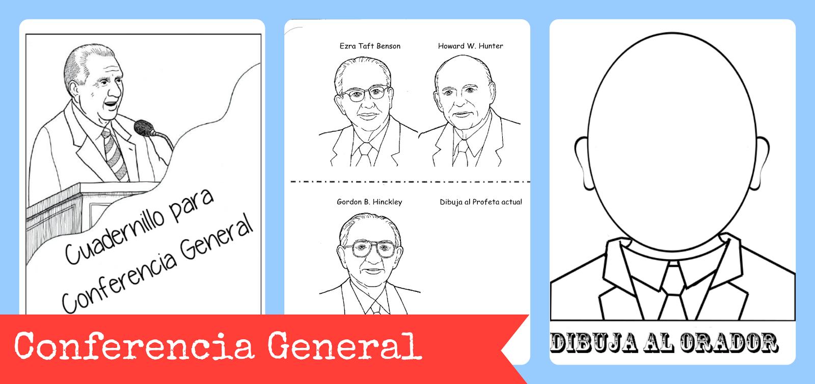 Actividades Primaria SUD: Cuadernillo para la Conferencia General