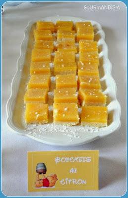 image carrées au citron