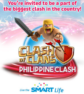 Smart Clash of Clans Philippine Clash 2015 Registration Now Open