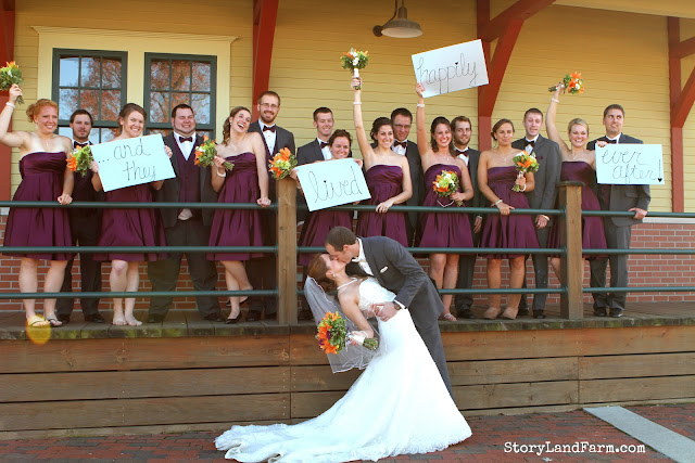 Jasper Indiana Train Depot Wedding Pictures