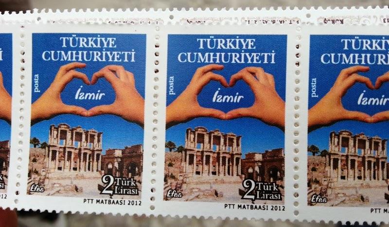 francobollo Türkiye Cumhuriyeti Izmir