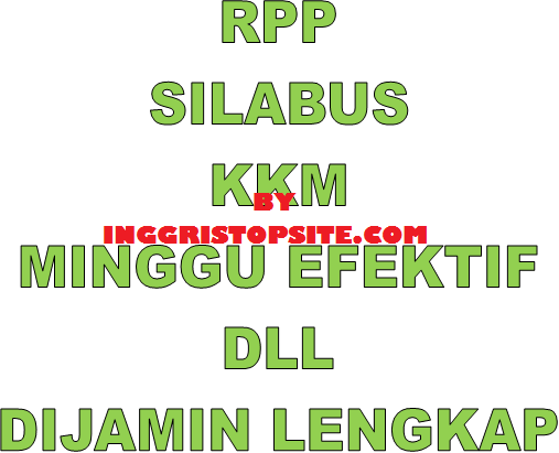 Download Perangkat Pembelajaran Bahasa Inggris Smp Mts Lengkap Inggristopsite