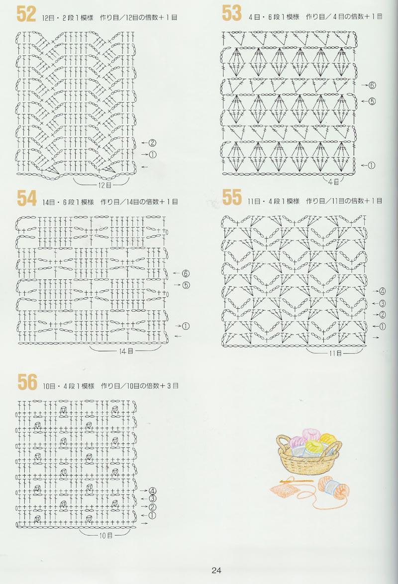 Solo puntos crochet puntos calados - Almazuelas patrones gratis ...