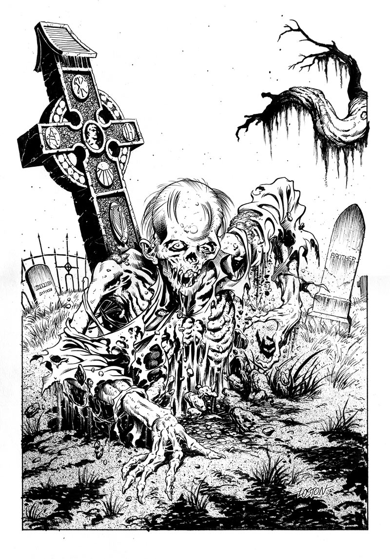 Zombie Pictures To Draw He Wanted Me A