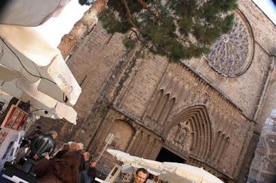 Santa Maria del Pi in Barcelona