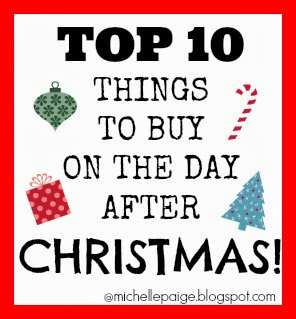 Top 10 Things to Buy After Christmas