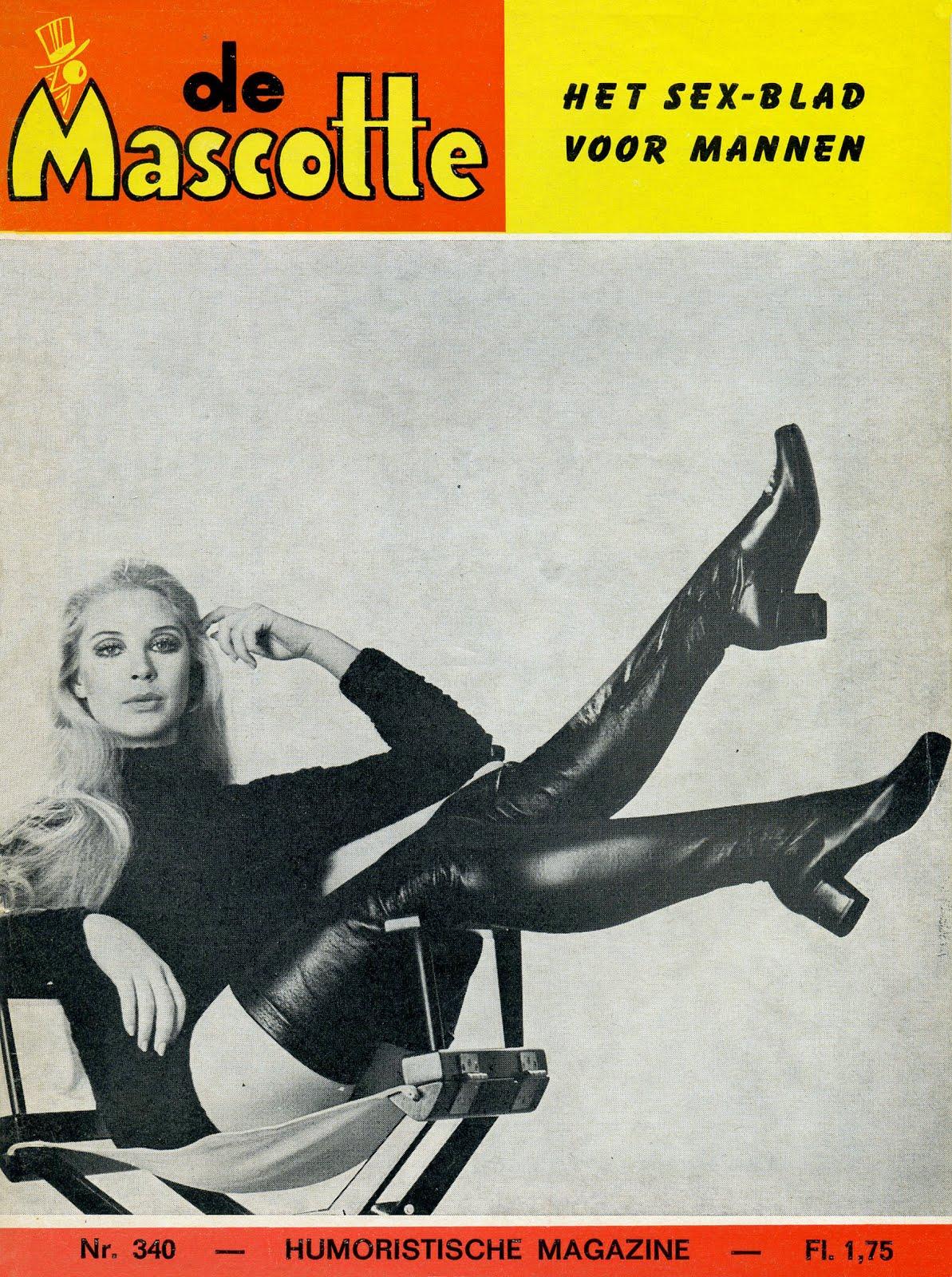 de mascotte HET SEX-BLAD VOOR MANNEN