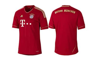 Nueva camiseta Bayern Múnich 2011-2012