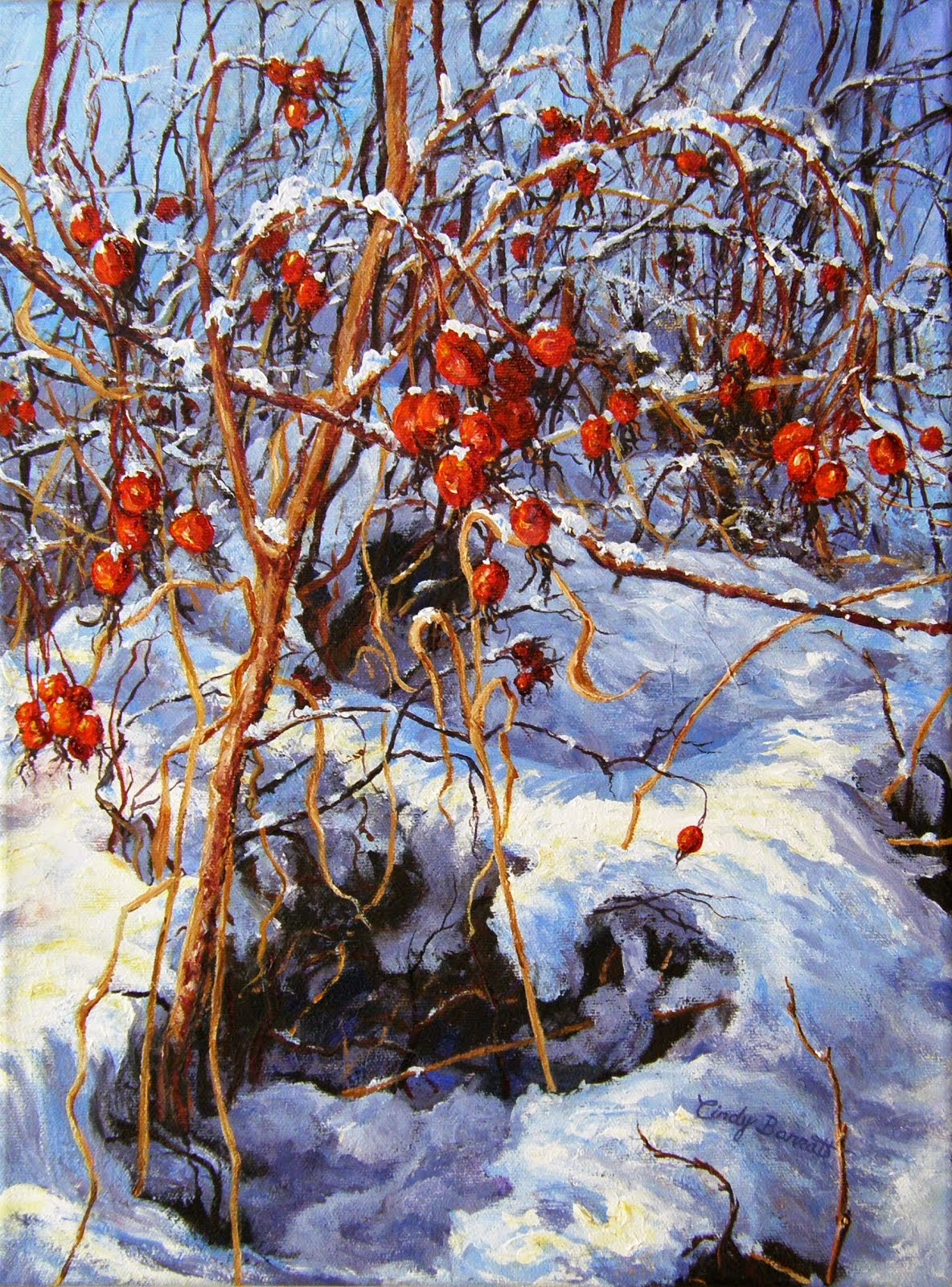 Winter Rose Hips #2