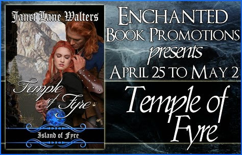 enchanted book promotins, jane lane walters, temple of fyre, fantasy romance