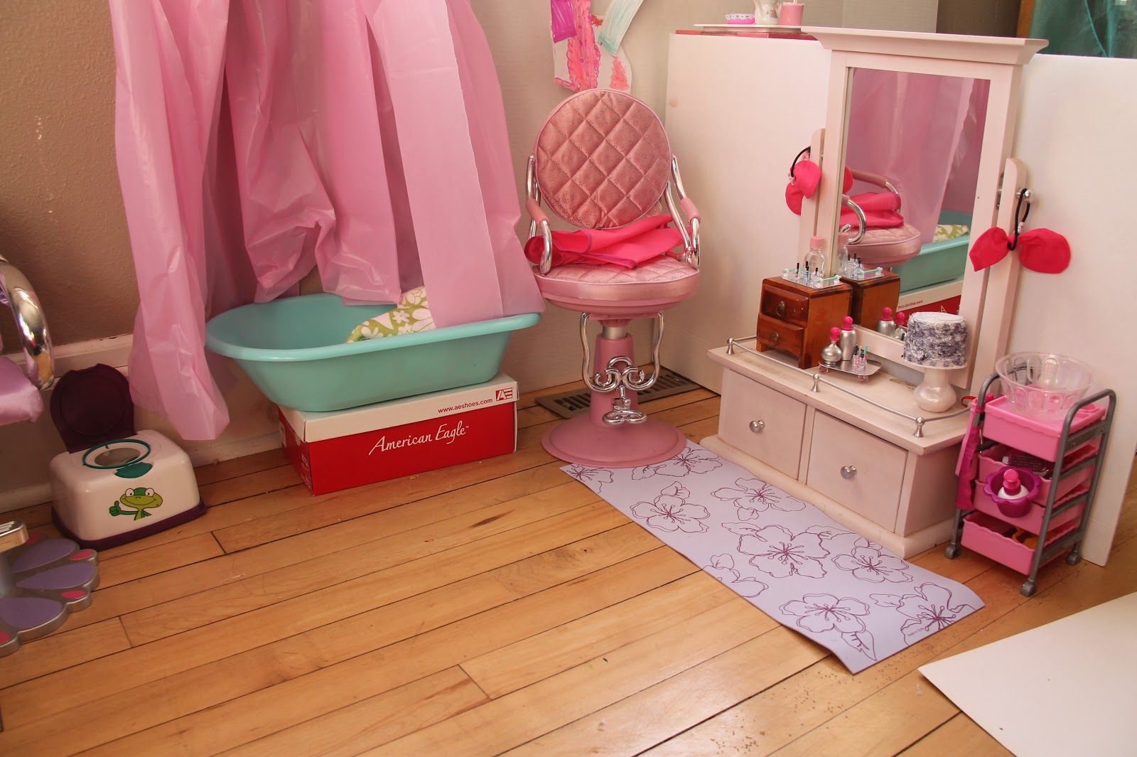 American Girl Doll Play Redecorating Our Doll Rooms