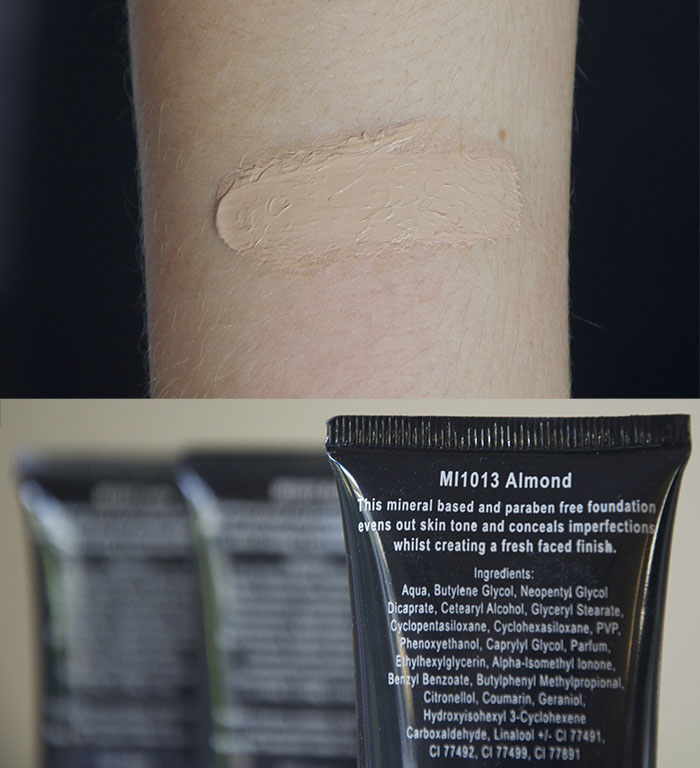 Miners Fresh Faced Foundation Review Ivory Buff Almond