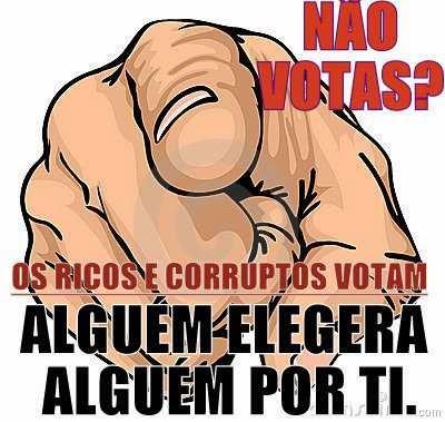 Não Votas?