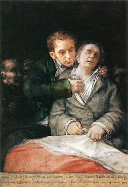 Autorretrato con el doctor Arrieta (1820)