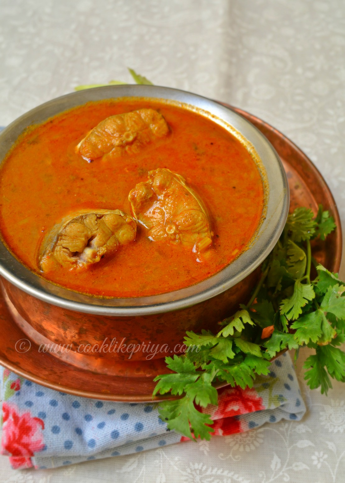 Easy South Indian Fish Curry | Tamil Meen Kuzhambhu