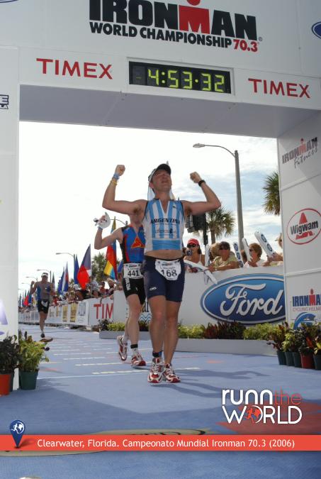 Clearwater, Florida. Campeonato Mundial Ironman 70.3 (2006)