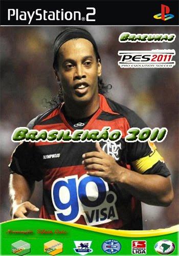 brazukas2011 PES 2011 Brazukas Brasileiro 2011 V2   PS2 NTSC