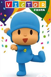 Tarjeta de Invitación de Cumpleaños de Pocoyo